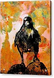 The Stillness Broken Acrylic Print by Sandy Applegate