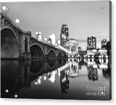 The Central Avenue Bridge Acrylic Print