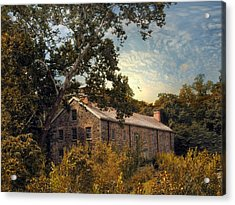 The Stone Mill Acrylic Print by Jessica Jenney