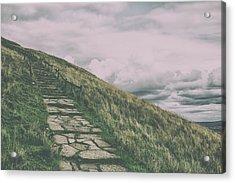 The Stone Path Acrylic Print
