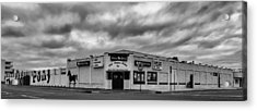 The Stone Pony Asbury Park New Jersey Black And White Acrylic Print