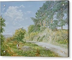 The Stonebreaker Acrylic Print by George William Mote