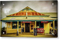 Acrylic Print featuring the photograph The Store by Perry Webster