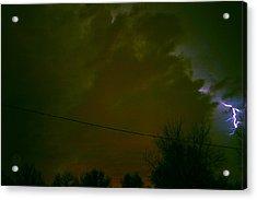 The Storm 2.8 Acrylic Print