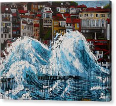 The Storm- Large Work Acrylic Print