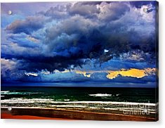 The Storm Roles In Acrylic Print by Blair Stuart