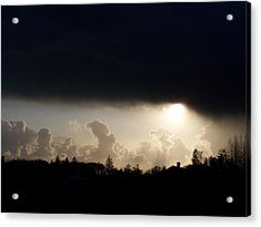 The Storm V Acrylic Print by Laurie Kidd