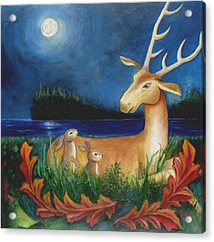 Acrylic Print featuring the painting The Story Keeper by Terry Webb Harshman