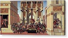 The Story Of Lucretia Acrylic Print