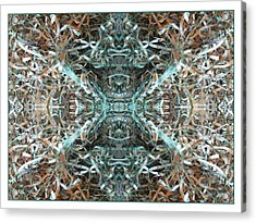 Acrylic Print featuring the mixed media The Story Of Money by Clark Ulysse