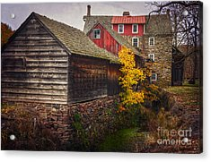 The Stover-meyers Mill Acrylic Print