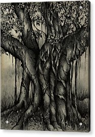 The Strangler Acrylic Print