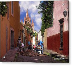 The Street Workers Acrylic Print