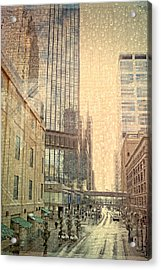 The Streets Of Minneapolis Acrylic Print