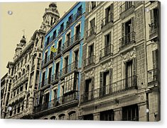 The Streets Of Toledo Acrylic Print by JAMART Photography