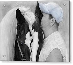 The Strong Bond Between Friends Acrylic Print