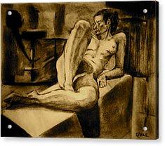 The Studio Acrylic Print by Dan Earle