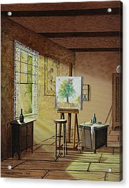 The Studio Acrylic Print by Don Griffiths