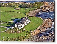 The Studio Newport Rhode Island Acrylic Print by Duncan Pearson