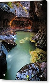 The Subway Colors Acrylic Print