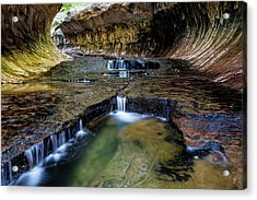 The Subway Trail Acrylic Print by James Marvin Phelps
