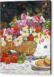 The Summer Picnic Acrylic Print