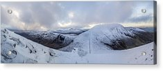 The Summit And Down The Wall Acrylic Print