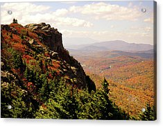 Acrylic Print featuring the photograph The Summit In Fall by Meta Gatschenberger