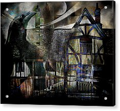 The Summoner Acrylic Print by Mimulux patricia no No