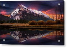 Acrylic Print featuring the photograph The Sun Also Rises by John Poon