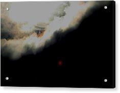 The Sun Behind The Cloud  1 Acrylic Print by Paul SEQUENCE Ferguson             sequence dot net