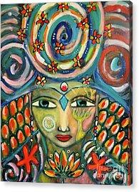 The Sun Goddess  Acrylic Print