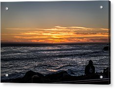 The Sun Says Goodbye Acrylic Print