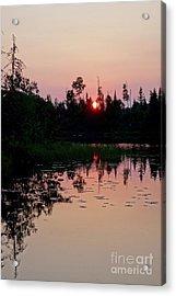 The Sun Sets On Harriet Acrylic Print