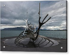 The Sun Voyager, Reykjavik, Iceland Acrylic Print
