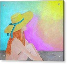 The Sunbathing Acrylic Print