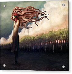 The Sundered Acrylic Print by Ethan Harris