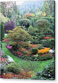 The Sunken Garden Acrylic Print