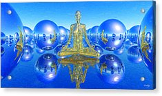 The Superficial Illusion Of Duality Acrylic Print