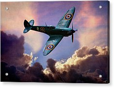 The Supermarine Spitfire Acrylic Print