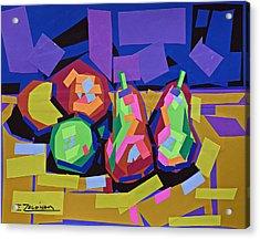 The Sweet Fruits Of Art Acrylic Print