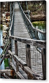 The Swinging Bridge Acrylic Print