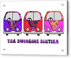 The Swinging Sixties Acrylic Print