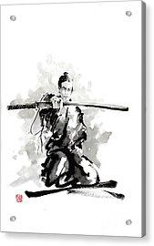 The Sword Acrylic Print by Mariusz Szmerdt