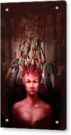 The Symbolist Acrylic Print by Ethan Harris