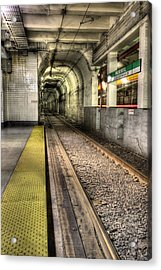 The T Acrylic Print by JC Findley