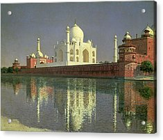 The Taj Mahal Acrylic Print by Vasili Vasilievich Vereshchagin