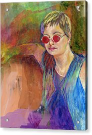 The Talent Acrylic Print by Jimmie Trotter