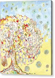 The Talking Tree Acrylic Print by Jennifer Lommers