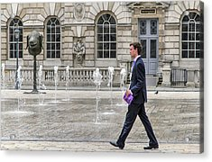 The Tax Man Acrylic Print by Keith Armstrong